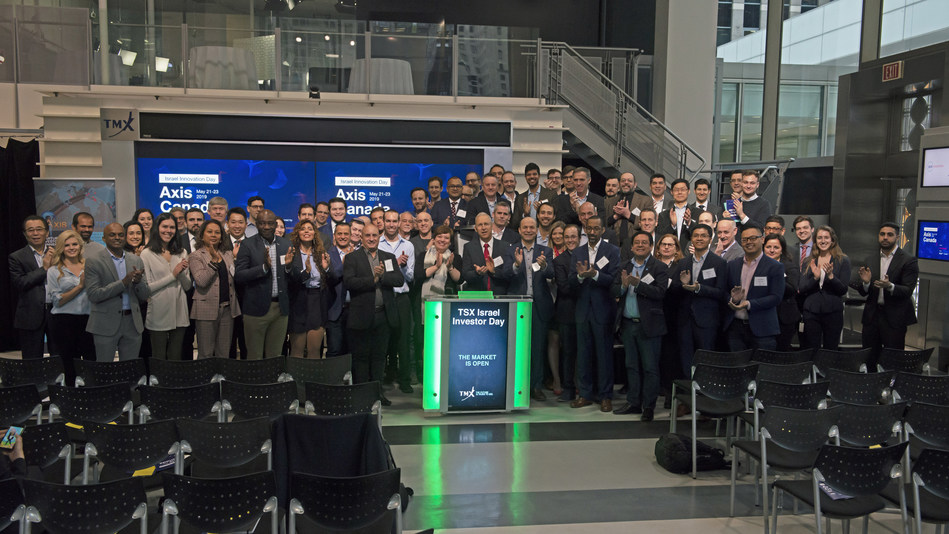 TSX Israel Investor Day Opens the Market (CNW Group/TMX Group Limited)