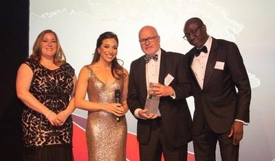 """Michael O'Keeffe, fondateur et président exécutif du conseil de Champion, reçoit le prix """"Rising Star"""" [Étoile montante]. (Groupe CNW/Champion Iron Limited)"""