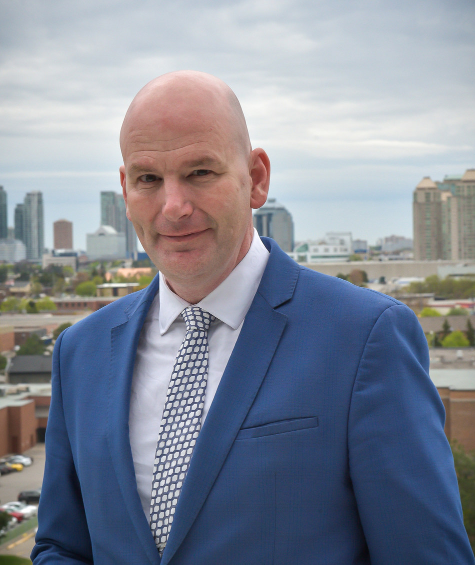 Dr. Craig Stephenson, incoming President and CEO, Centennial College. (CNW Group/Centennial College)
