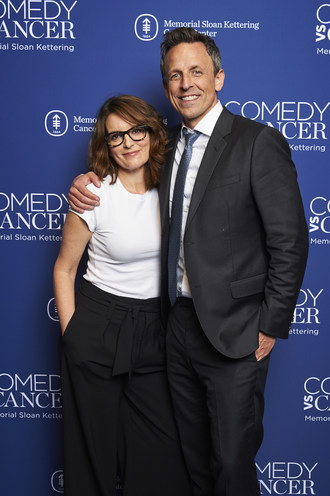 Tina Fey and Seth Meyers performed together at the Comedy vs Cancer event on Tuesday, May 14, 2019 in New York City. Comedy vs Cancer supports the most promising and cutting-edge blood cancer research at Memorial Sloan Kettering Cancer Center.