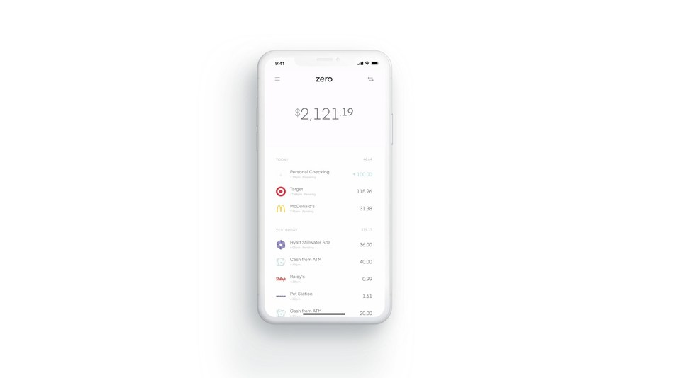 """Zero is banking built for today's consumer needs. Unlike any other product before it, Zero finally lets you """"bank like debit and earn like credit."""""""