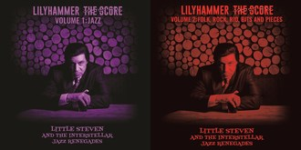 Little Steven's score for Netflix's first original series 'Lilyhammer' will be released for the first time on July 12 as two separate volumes.