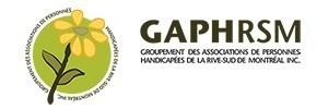 Logo : Groupement des associations de personnes handicapées de la Rive-Sud de Montréal (GAPHRSM) (Groupe CNW/Groupement des associations de personnes handicapées de la Rive-Sud de Montréal (GAPHRSM))