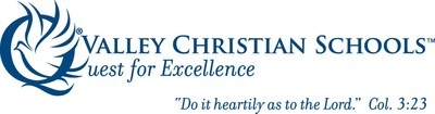 Valley Christian Schools Logo (PRNewsfoto/Valley Christian Schools)