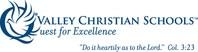 Valley Christian Schools Logo (PRNewsfoto/Valley Christian Schools)