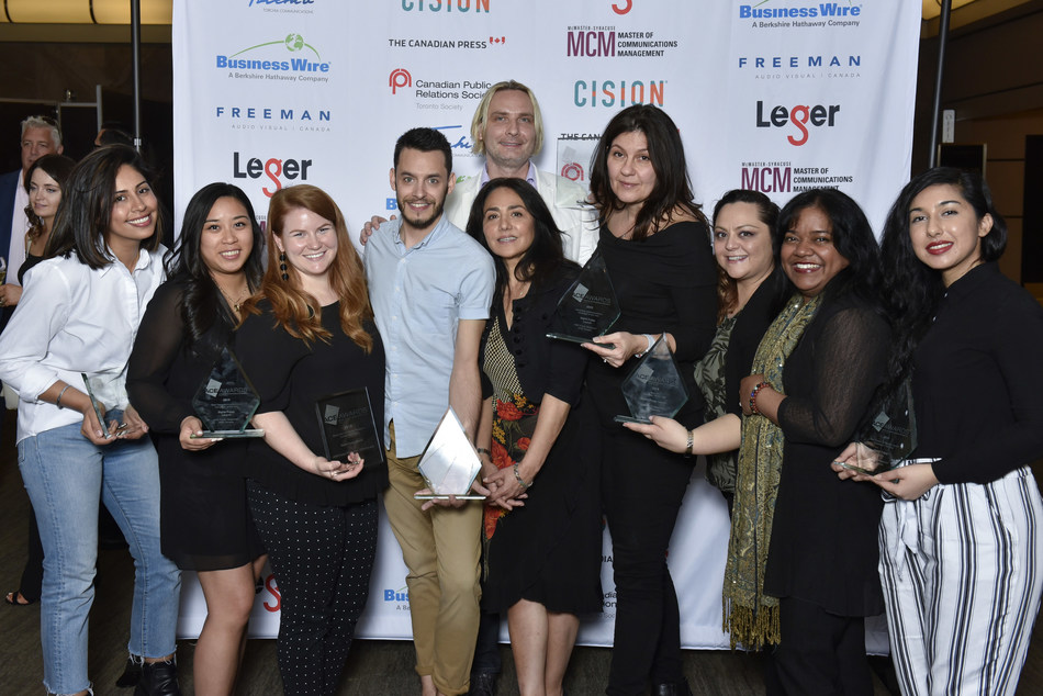 Best PR Campaign of the Year - DDB Public Relations/DDB Canada for Digital Poppy Launch (CNW Group/Canadian Public Relations Society Toronto)