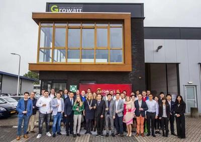 Growatt Holds Grand Opening Ceremony for Rotterdam Office