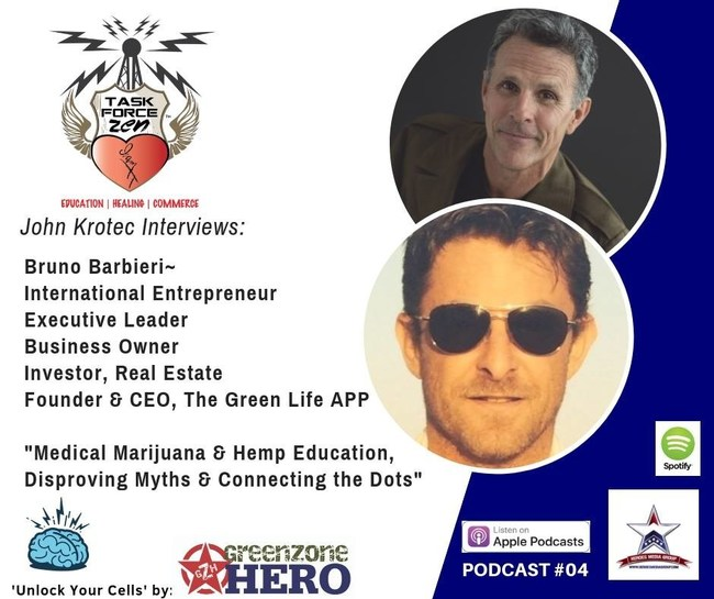 GreenZone Hero and The Green Life App Connect the Patriotic Marketplace with the Cannabis Industry (Straight Outta Combat Audio Medicine with GreenZone Hero)