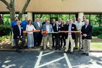 Graycor Southern team members celebrate the opening of their new facility in Kennesaw, GA.