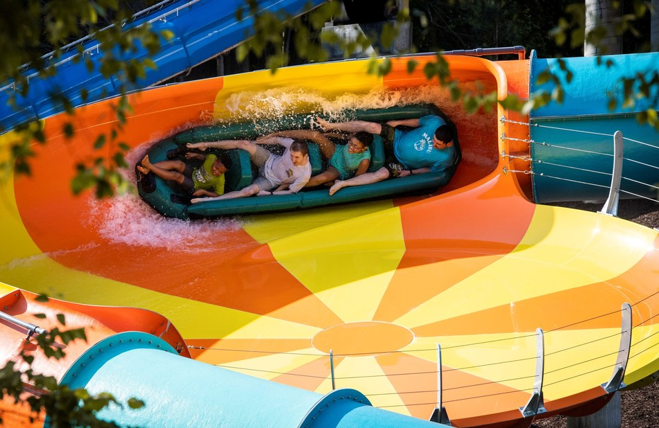 Water Country USA® has opened Cutback Water Coaster™, the first RocketBLAST® coaster on the East Coast and a first for Virginia.