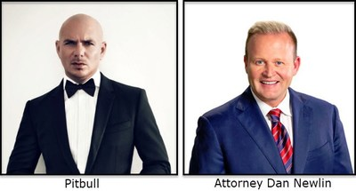 Attorney Dan Newlin Presents Global Superstar Pitbull and World-Famous Artist Nacho for a FREE Concert, Honoring A National Hero, Orlando Police Officer Kevin Valencia.