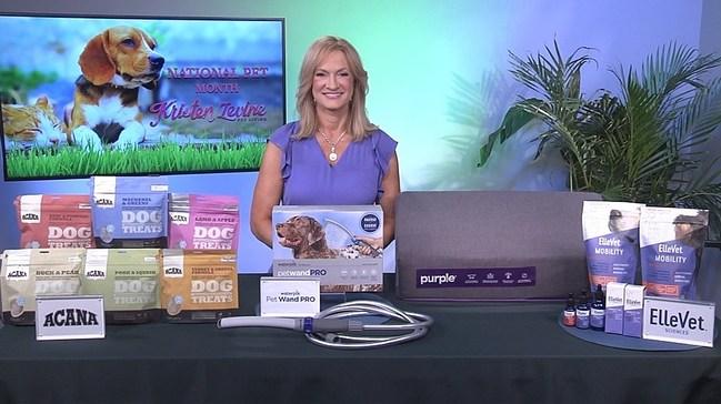 Kristen Levine geeft haar beste tips voor huisdieren tijdens de National Pet Month.