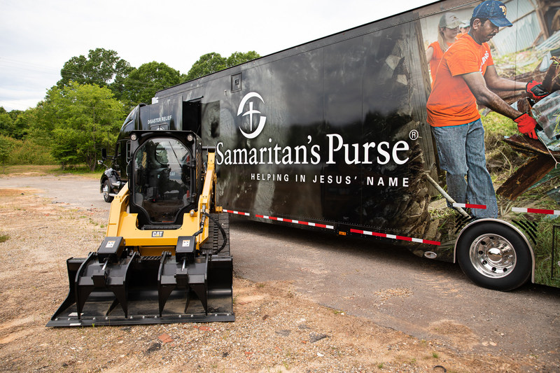 Samaritan's Purse deployed two disaster relief units to Missouri and Oklahoma following dozens of tornadoes and massive flooding.