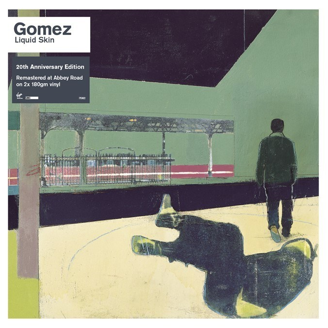 Gomez Announce The Release Of The Remastered 20th Anniversary Edition Of Liquid Skin Due For Release on July 12th, 2019. Abbey Road's Frank Arkwright has delved into the archives to remaster Liquid Skin from the original tapes which will be released digitally & as a special 2CD / 2LP standard & limited edition clear vinyl featuring 19 unreleased tracks. To pre-order the Ltd Clear Vinyl LP, CD or 180g Vinyl go to GomezTheBand.com.