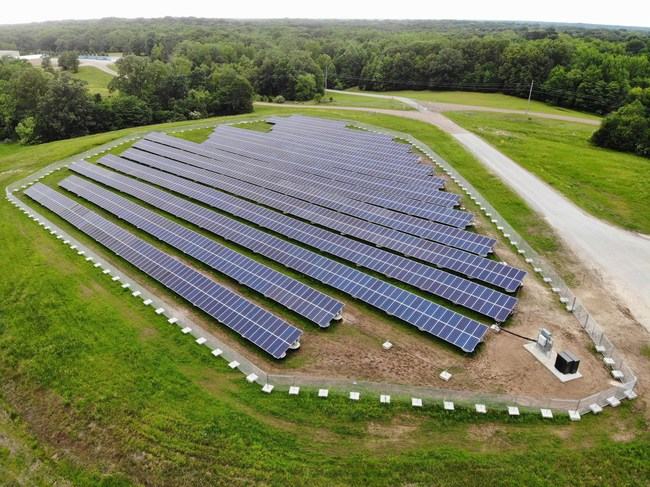 C2 Energy Capital Completes Largest Solar Project Installed on a Landfill in Tennessee