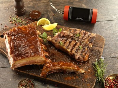 Grill to perfection, every time with GrillEye® Pro Plus. (PRNewsfoto/GrillEye®)