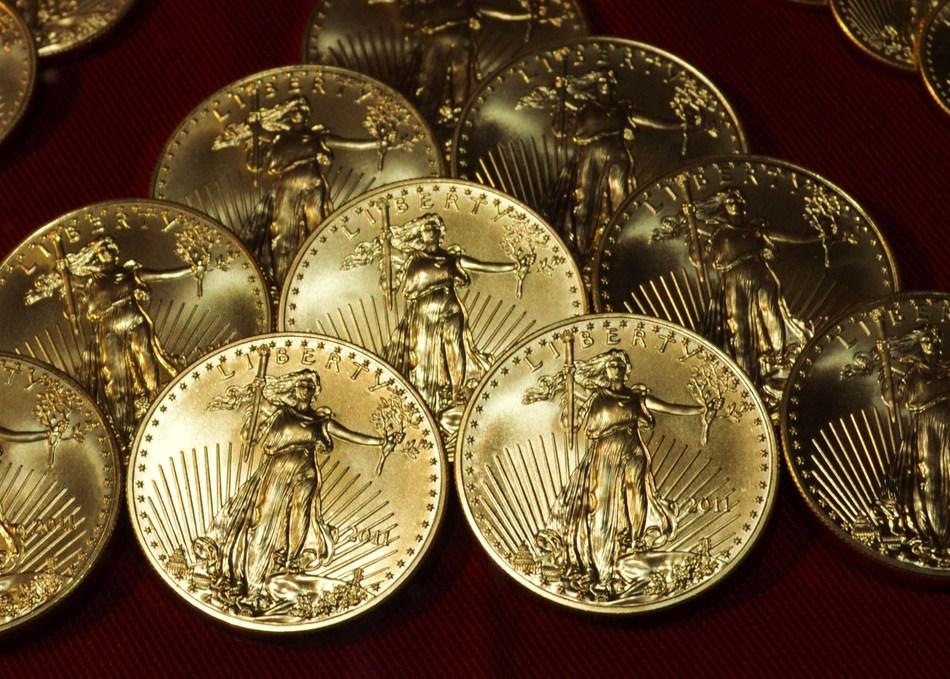 American Eagle gold bullion coins.