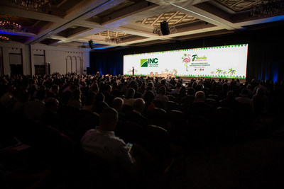Welcome session of the 38th INC World Nut and Dried Fruit Congress in Boca Raton, Florida
