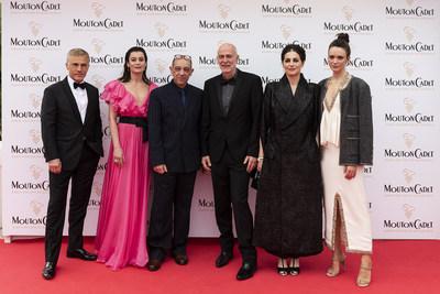 Christoph Waltz, Aurelie Dupont, Bruno Delbonnel, Guillaume Laurant, Amira Casar, Stacy Martin@MCWB 2019