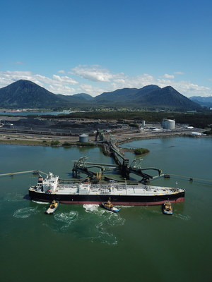The first shipment of Canadian propane departed RIPET on Canada's West Coast on May 23. The facility is expected to ship approximately 1.2 million tonnes of propane annually to customers in Asia. (CNW Group/AltaGas Ltd.)