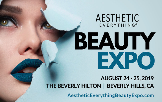 Vanessa Julia Founder of Aesthetic Everything Beauty Expo Announces the details and schedule of the 2019 event at The Beverly Hilton in BEVERLY HILLS, CA