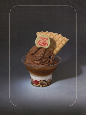 The Upside Down Sundae, featuring the Upside Down Pralines Flavor of the Month, is just one of the Stranger Things that is happening at Baskin-Robbins this summer. For more information, visit www.BaskinRobbins.com.