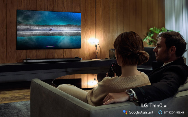 The update, which will begin going live today, will be implemented through the Alexa app installed on LG UHD, NanoCell and OLED TVs with AI ThinQ®.