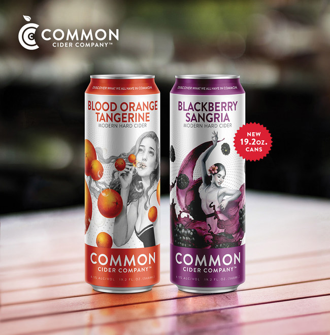 "Common Cider Now Available in 19.2 Oz ""Stovepipe"" Cans!"