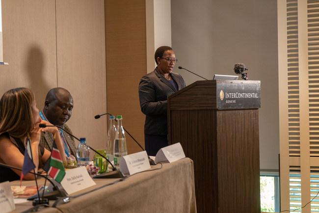 CS Sicily Kariuki, Cabinet Secretary of Health, Kenya