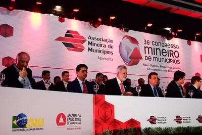 XCMG Brazil participó este mes en el 36° Congreso Minero de Municipios de la AMM.