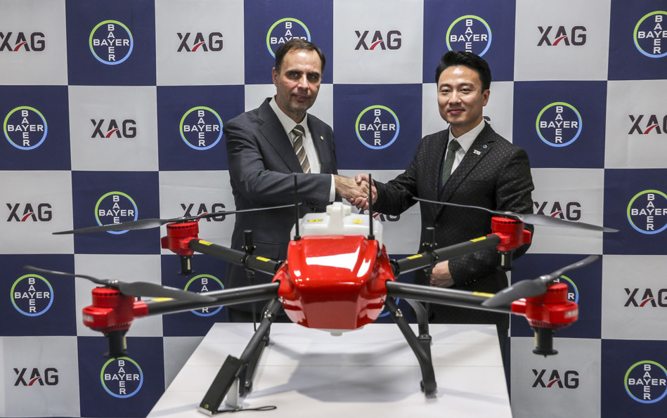 XAG and Bayer CropScience in Japan will together explore advanced chemical application via fully autonomous drones.