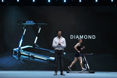 MERACH unveils the first foldable light commercial treadmill and the 5CM super ultra-thin treadmill at 2019 Global New Products Conference