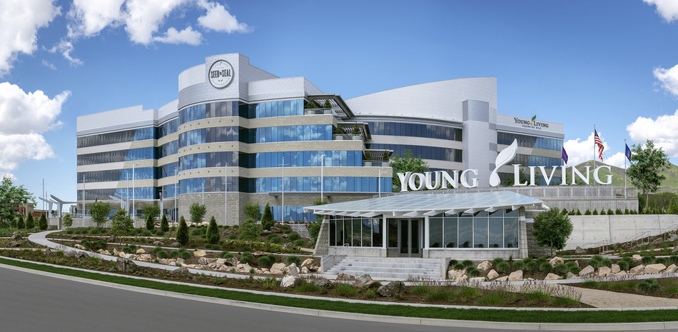 Young Living Unveils New Global Headquarters At Ribbon