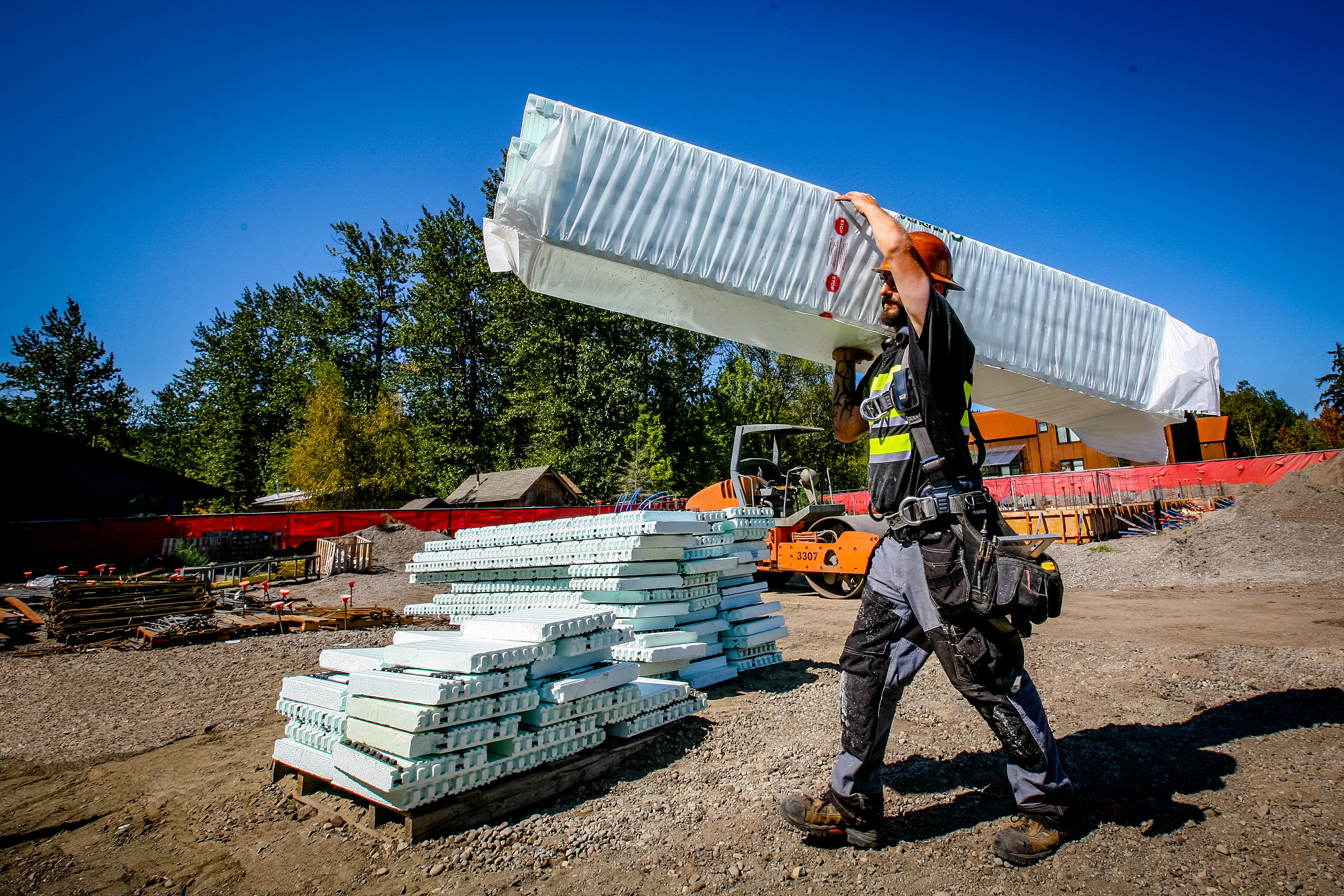 NUDURA Insulated Concrete Forms allow for stronger, safer, eco