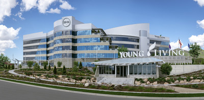 Global Headquarters, Young Living Essential Oils, Lehi, Utah (PRNewsfoto/Young Living Essential Oils)