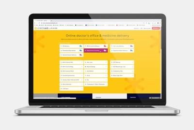 Lemonaid Health website