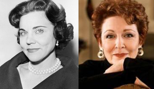 Margo Howard (R), Daughter of Eppie Lederer (L), will relaunch her mother's classic advice column at AnnLanders.com
