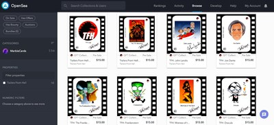 Charlie Largent's Illustrates A Trailers From Hell GFT™ Authentic Digital Collectible™
