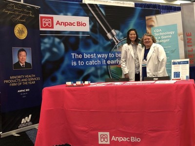 "Anpac Bio-Medical Science Company will be at Booth #21103 at the American Society of Clinical Oncology #ASCO Annual Meeting in Chicago, IL, May 31-June 4, 2019. The #AnpacBio team will share information regarding its breakthrough, ""Cancer Differentiation Analysis"" liquid biopsy technology research, demonstrating CDA identifies 28+ early-stage cancers with a single, standard blood sample. Anpac Bio will also share cerebral cancer research results at a Poster Session on Sunday, June 2, 2019."