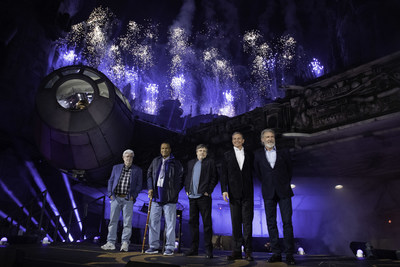 The Walt Disney Company celebrated the momentous dedication of Star Wars: Galaxy's Edge tonight in an epic ceremony at Disneyland Park.