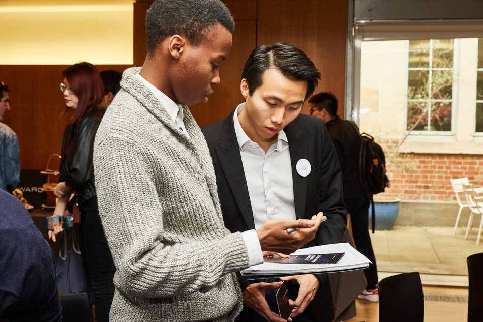 Students asked registration process details at Seed Award 2019 global convening tour