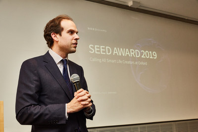 Dr. Carl Benedikt Frey, co-director of the Oxford Martin Program on Technology and Employment and Economics Associate of Nuffield College, University of Oxford at Seed Award 2019 global convening tour.