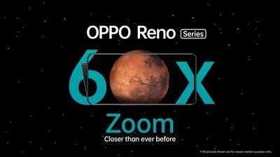 OPPO Reno 60x Zoom (PRNewsfoto/OPPO MEA)