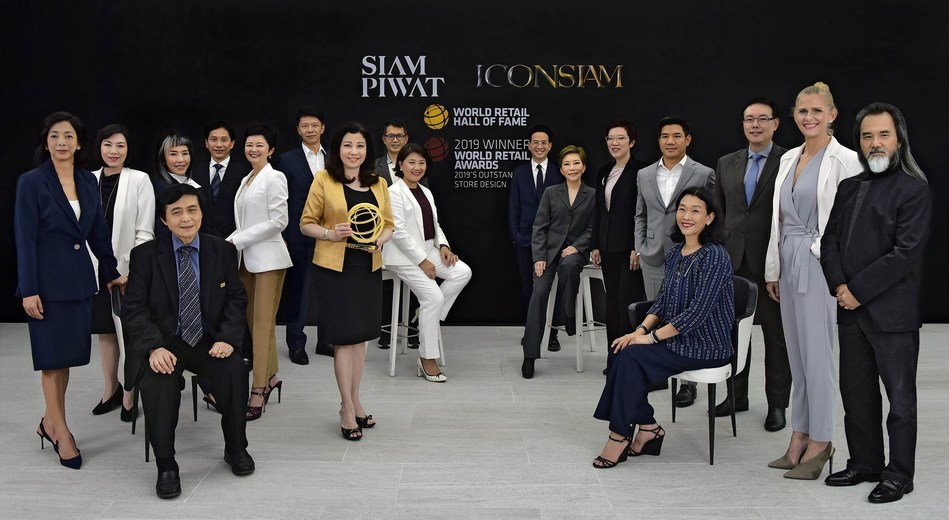 CEO of leading Thailand retail developer Siam Piwat inducted into World Retail Hall of Fame and Thailand's ICONSIAM named 'Store Design of the Year 2019' at the World Retail Awards