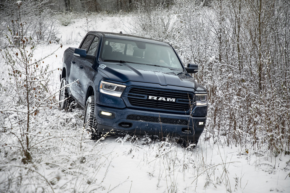 The 2019 Ram 1500 has been named the New England Motor Press Association's (NEMPA) Official Winter Truck of New England.