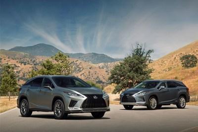 Los nuevos Lexus RX y RXL de 2020 de tres filas de asientos traen actualizaciones en el interior y en el exterior. (PRNewsfoto/Lexus)