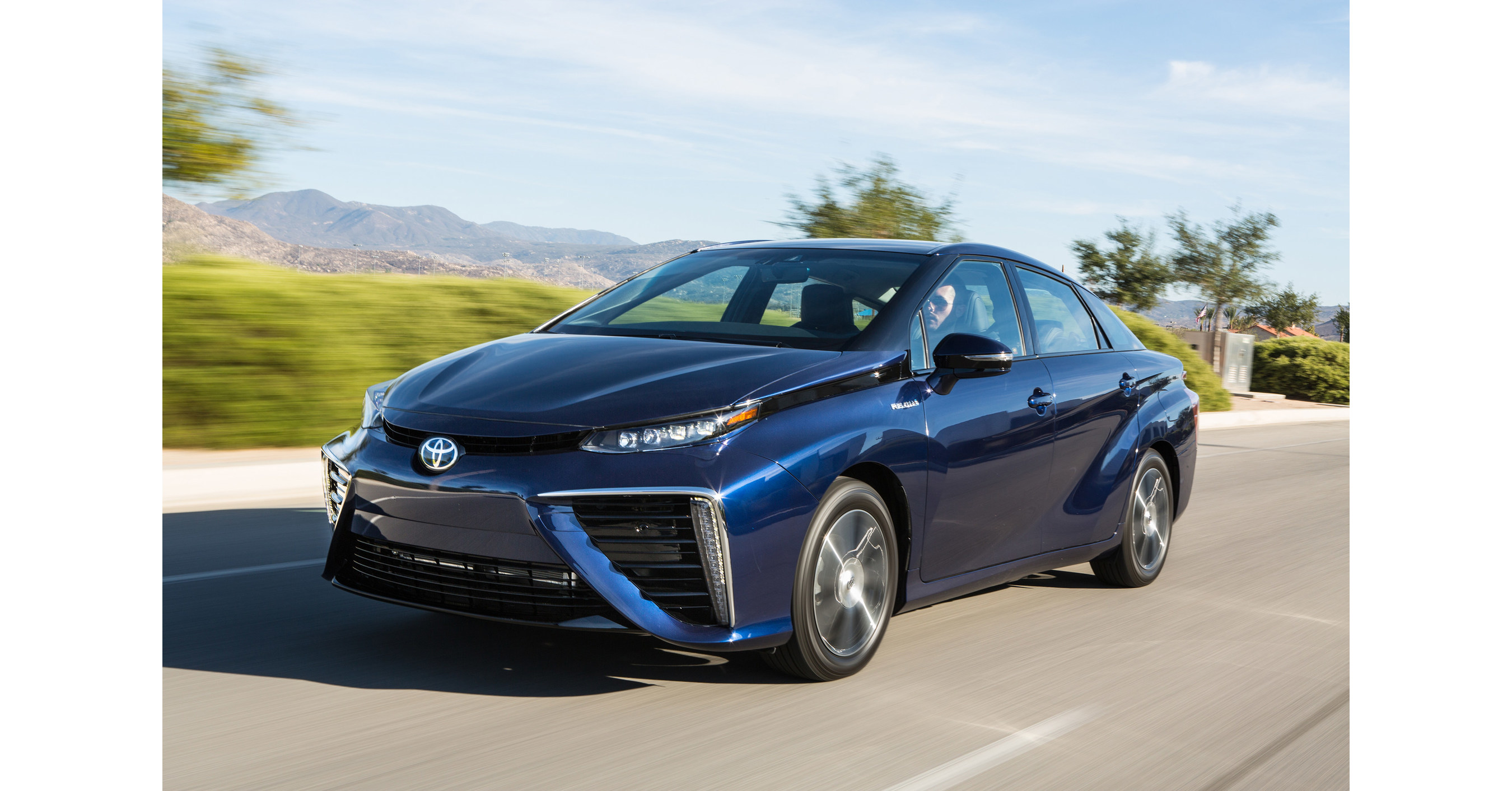 Toyota Mirai Fuel Cell Electric Vehicle For Sale In B C Starting In July