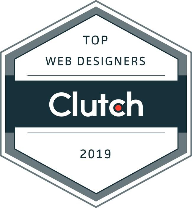 Clutch Award - Top Web Designers 2019