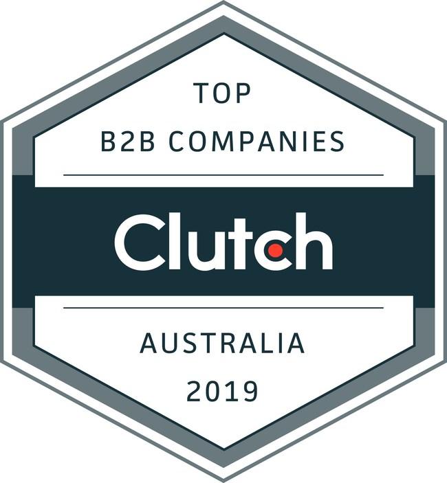 Clutch Award - Top B2B Companies in Australia 2019