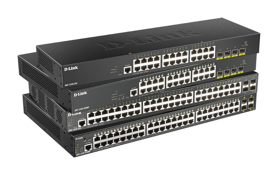 DGS-1250 Series Smart Managed Switches (PRNewsfoto/D-Link)